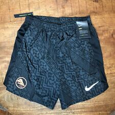 "Nike Running Shorts 7"" Challenger Hakone Ekiden CT5210 011 Black Gray Mens Small"
