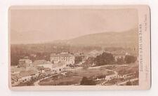 Vintage CDV Panorama at Aix-les-Bains France Great Image  Demay Photo