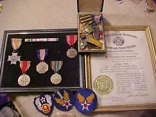 ORIGINAL WWII USAAF SOLDIERS MEDAL GROUPING 373RD FIGHTER GROUP - ETO