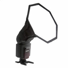 20cm Octagon Softbox Diffuser Flash For Canon Nikon Sony Pentax UK Seller