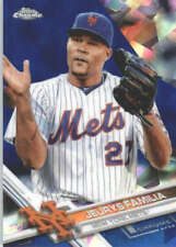 JEURYS FAMILIA 2017 TOPPS CHROME SAPPHIRE EDITION #301 ONLY 250 MADE