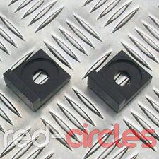 12mm BLACK ALLOY L BLOCK PIT DIRT BIKE CHAIN TENSIONERS ADJUSTERS 110cc 125cc