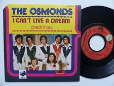 THE OSMONDS I can't live a dream 2066726 Pressage France RRR