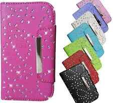 Handy Tasche für Smartphone Schutz Hülle Cover Hard Case Silikon Schale Glitzer
