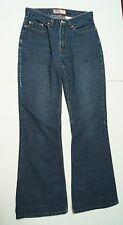 "Old Navy Ladies Blue Jeans Size 2 29"" x 29.5"" Flare Leg Bell Bottom Faded Denim"
