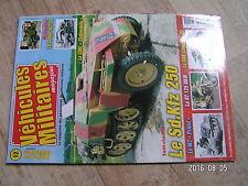 $$u Revue Vehicules Militaires magazine N°12 Sd.Kfz 250  M7 Priest  RT 125 DKW