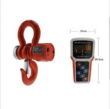 5T Wireless Digital Electronic Hanging Crane Scale Wireless Handheld Meter  Y