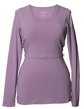 Boob Design Stillshirt Umstandstop Longsleeve diverse Farben Bio-Baumwolle GOTS