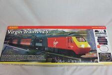 HORNBY OO Gauge R1023 VIRGIN Trains 125 High Speed Train Set with box