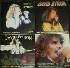 DAVID BYRON ex URIAH HEEP THE EARLY SESSIONS MASTERS Volumes1, 2, 3 & 4 - NEW