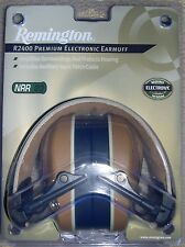 Remington Hearing Protection Premium Electronic Ear Muff R2400 / NRR23 Decibles