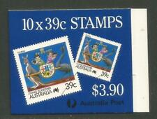 Australia 1988 Living Together 39c booklet--Attractive Topical (1063Bc/SB61) MNH