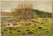 E.I. Friis » Wald &  Wiesenlandschaft «