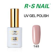 RS PP165 Gel Nail Polish UV LED Varnish Soak Off 0.5oz Vintage Pink Gel