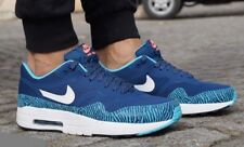 Nike Air Max 1 PRM TAPE Brave Blue & Summit Whit Sz 9 599514-410 Mens