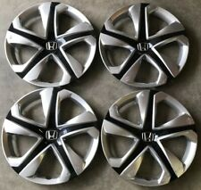 SET OF 4 HONDA CIVIC HUBCAPS WHEEL COVERS REPLACEMENTS 2016-2018  OEM 16""