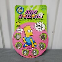 VTG Simpson Rad Rollors Collectible Action Marbles NOS NIP Spectra Star 1990