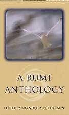 A Rumi Anthology (Oneworld Spiritual Classics), Good Condition Book, Rumi, Jelal