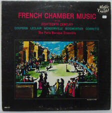 French Chamber Music of the 18th Century LP Paris Baroque Ensemble Couperin