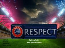 Europe Patch Badge Officiel RESPECT maillot foot Champion's Europa League, Euro