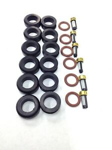 FUEL INJECTOR REPAIR KIT O-RINGS FILTERS GROMMETS 2002-2005 FITS TOYOTA-LEXUS V6