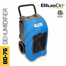 BlueDri Bd-76P 150Ppd Industrial Grade Commercial Dehumidifier, Blue