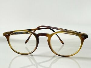 Authentic Oliver Peoples Riley R  Olive Tortoise Glasses- Preowned Condition