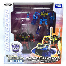 97366 TRANSFORMERS MISB UN-20 UN20 RUMBLE & FRENZY UNITED JPvers TAKARATOMY MISB