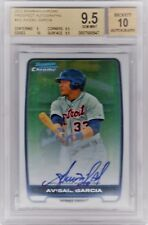 2012 Bowman Chrome Avisail Garcia RC Auto BGS 9.5 GEM MINT
