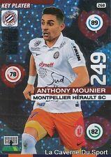 268 MOUNIER FRANCE MHSC MONTPELLIER KEY PLAYER CARD ADRENALYN 2016 PANINI