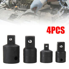 "4pcs 3/8"" to 1/4"" 1/2 inch Drive Ratchet Socket Adapter Reducer Air Impact Set"