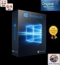 Windows 10 Pro Key/Licencia 100% Original 32/64 bits Multilanguage
