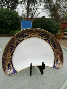Royal Worcester HAREWOOD crescent salad plate (s): 1sts and unused