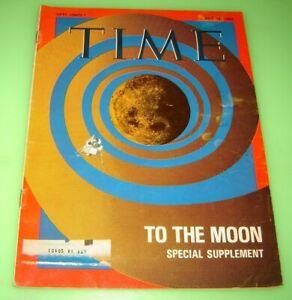 Apollo 11 - Moon Space Flight - July 18, 1969 TIME Magazine