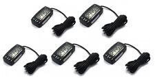 (5) Backlit Waterproof Digital Hour Meters / Tachometers w/ Maintenance Schedule