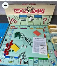Monopoly Board Game Vintage 1985 Parker Brothers Classic Original Box