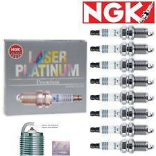 8 - NGK Laser Platinum Plug Spark Plugs 2003-2007 Hummer H2 6.0L V8 Kit Set