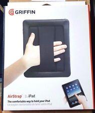 NEW GRIFFIN AIRSTRAP BLACK CASE FOR iPAD ORIGINAL 1ST GEN GB01759 W/ HAND STRAP