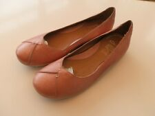 LADIES CLARKES SALMON PINK SHOES UK SIZE 8 D