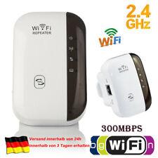 Mini Wireless WLAN Verstaerker 300Mbit/s WIFI Repeater Verstärker LAN Port/ WPS