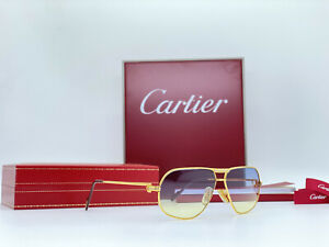 Occhiali Vintage Cartier Tank Sunglasses Brille Lunettes Sonnenbrille