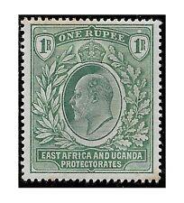 East Africa Uganda Protect. stamp 1903 EDWARD VII 1 Rupee green SG.9 MH -F463