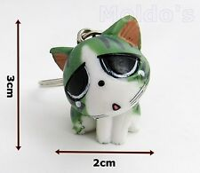Oriental Cat key cat ring chain keyring keychain gift cute cats charm new #3