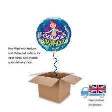 "Qualatex Q57799 Happy Birthday Mermaid 18"" Qualatex Foil Balloon"