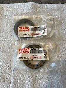 2 New Yamaha 93102-43341 Rear Oil Seals Yamaha Blaster