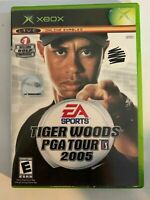 TIGER WOODS PGA TOUR 2005 - XBOX - COMPLETE WITH MANUAL - FREE S/H - (T9)