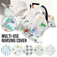 4-IN-1 Baby Stroller Car Seat Cart Cover Newborn Infant Nursing Cover Scarf US