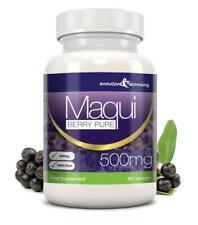 Maqui Berry Antioxidante 500mg 90 cápsulas Evolution Slimming pérdida de peso