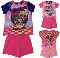 Girls LOL Surprise Pyjamas Short Summer Pjs Age 3 to 10 Years