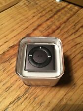 Apple iPod Shuffle 6g 2gb dunkelgrau - Neu (originalversiegelt)